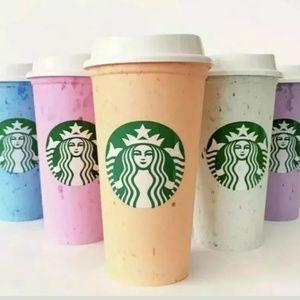 Starbucks Reusable Rare Hot Cup Collection